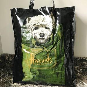 HARRODS Scottie Dog Reusable Tote Bag